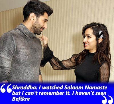 aditya and shraddha in an interview with spotboye