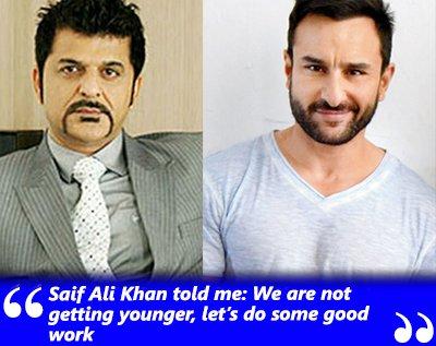 rajesh khattar and saif ali khan