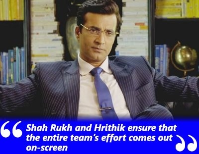 narendra jha exclusive interview on hrithik and shah rukhs efforts in the film