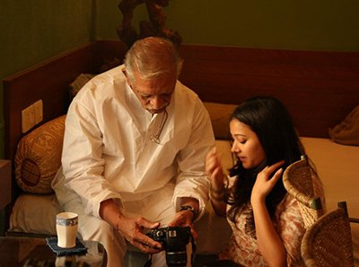 shweta basu prasad and gulzar