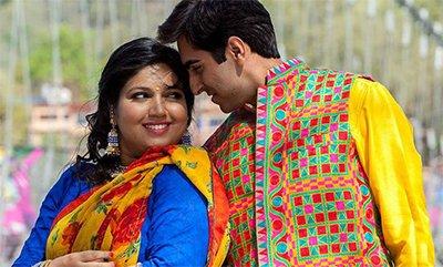 ayushmann khurrana and bhumi pednekar in dum laga ke haisha