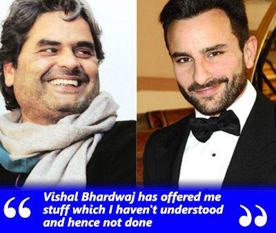 vishal bhardwaj and saif ali khan