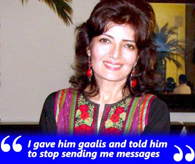 sonu walia exclusive interview giving gaalis to the person sending her videos