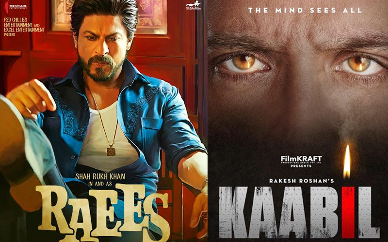 DAY 1: Shah Rukh's Raees Takes The Lead Over Hrithik's Kaabil