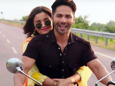 varun dhawan and alia bhatt in badrinath ki dulhania