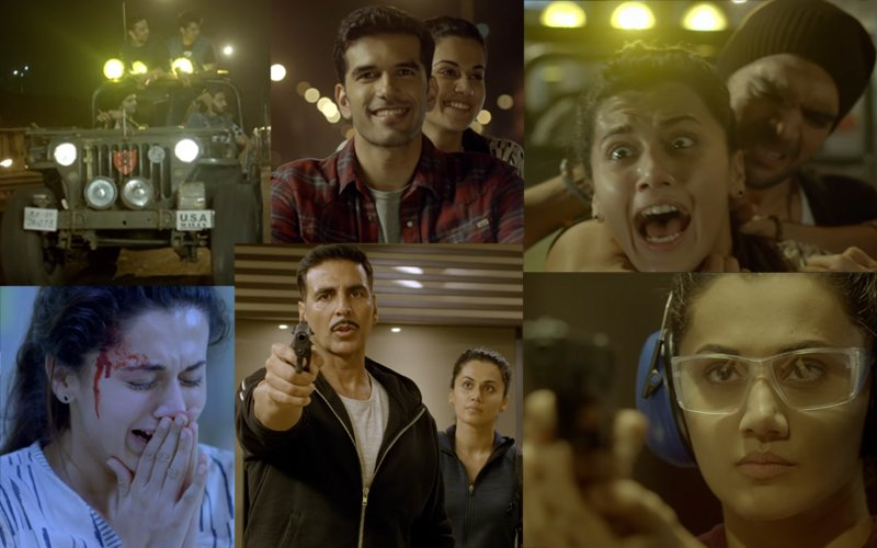 Naam Shabana Trailer Out: Taapsee Is The Hero Of This Film!