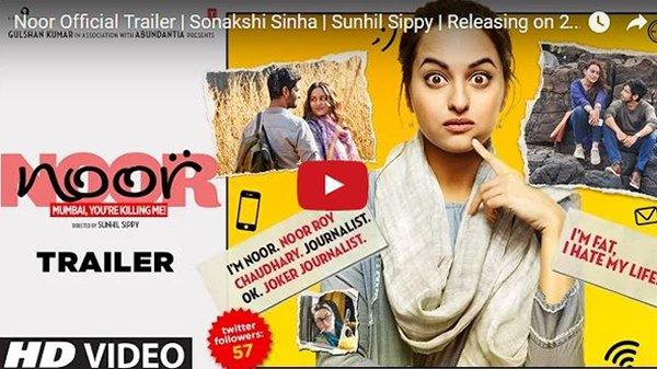 sonakshi sinhas noor trailer