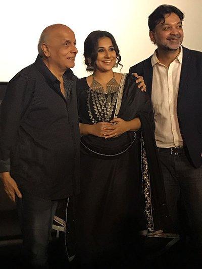 mahesh bhatt with vidya balan