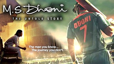 Best Film MS Dhoni The Untold Story