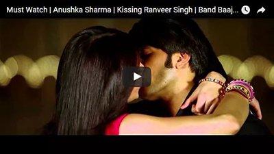 Anushka Sharma Kissing