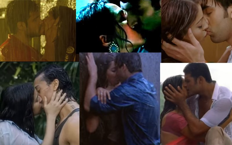 10 WET Bollywood KISSES That Set The Screens On Fire