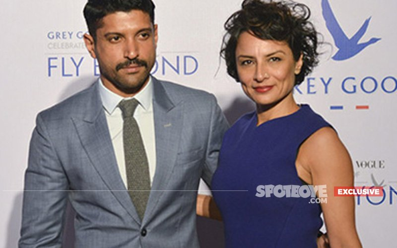Farhan Akhtar And Adhuna Bhabani Spotted At Mumbai's Divorce Court; Start With Legal Proceedings