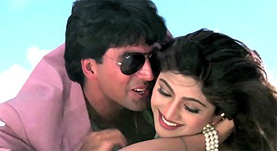 Image result for akshay kumar shilpa shetty twinkle