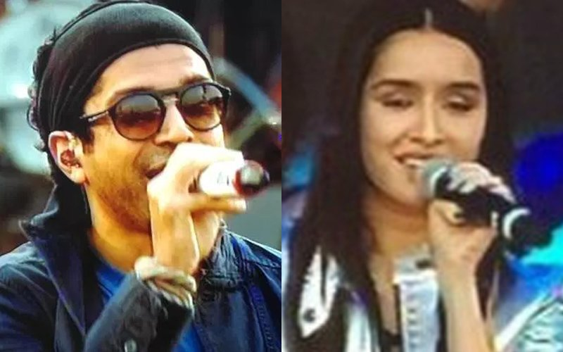 Coldplay In India: Farhan Rocks Out, Shraddha Cheers Him On