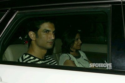 Sushant Singh Rajput at Dear Zindagi Screening