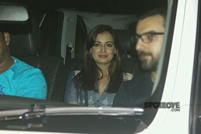 Dia Mirza at Dear Zindagi Special Screening