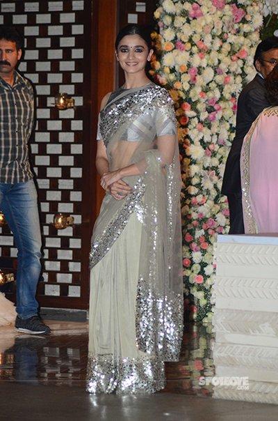 Aalia Bhatt at Ambani party