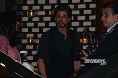 SRK at Ambani bash