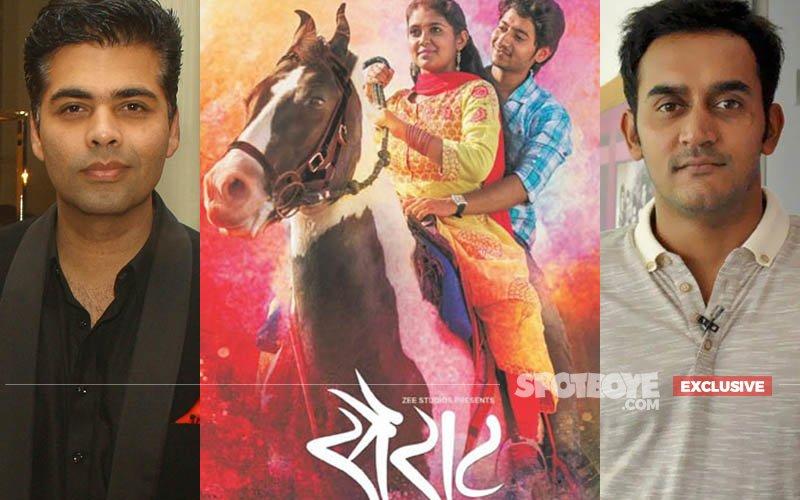 Has KJo Given The Ropes Of The Hindi Remake Of Sairat To Humpty Sharma Ki Dulhania Director?