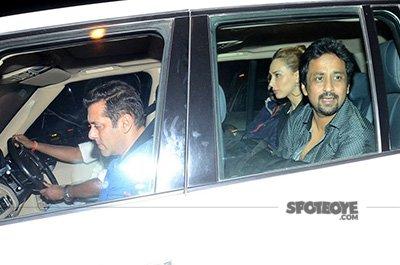 Salman Khan and Iulia Vantur Party At Amrita Arora house