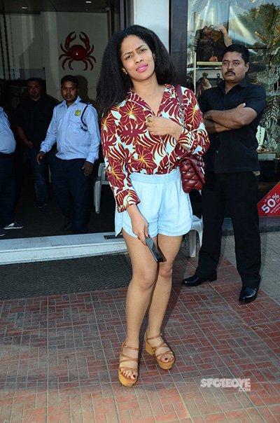Masaba Gupta at Shaheen Bhatt's Birthday Lunch
