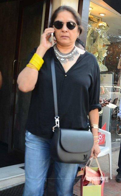 Neena Gupta at Shaheen Bhatt's Birthday Lunch