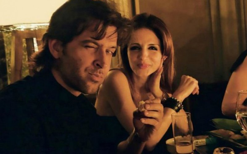 Hrithik Roshan Dines With Ex-Wife Sussanne Khan At A City Restaurant