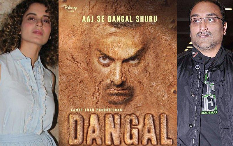 Kangana Ranaut, Aditya Chopra Attend Special Screening Of Aamir Khan's Dangal
