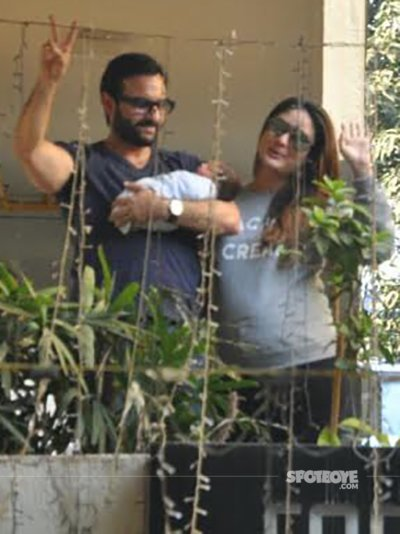 Days After Bringing Son Taimur Home, Kareena Kapoor Khan ...  Days After Brin...