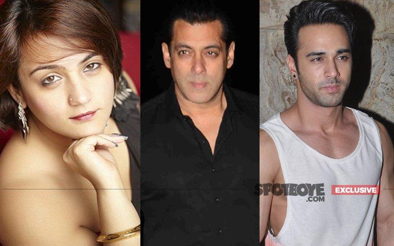 Salman's Rakhi Sister Shweta Sends Pulkit Out Of Salman's B'day Bash