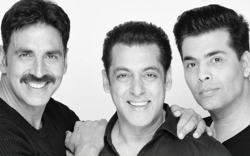 Here Comes Karan Johar's Big Announcement With Salman Khan & Akshay Kumar