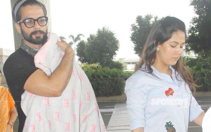 Shahid Kapoor Lashes Out At Journos Clicking Misha, Says They Lack Common Sense