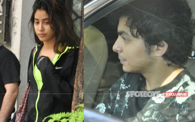 CAUGHT! Sridevi's Daughter Jhanvi On a Lunch Date With Boyfriend!