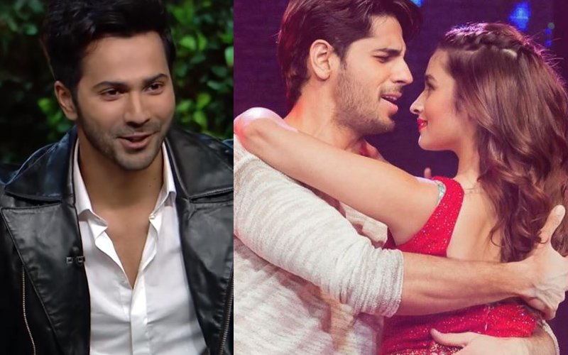 Varun Dhawan Confirms Sidharth Malhotra & Alia Bhatt's Love Affair!