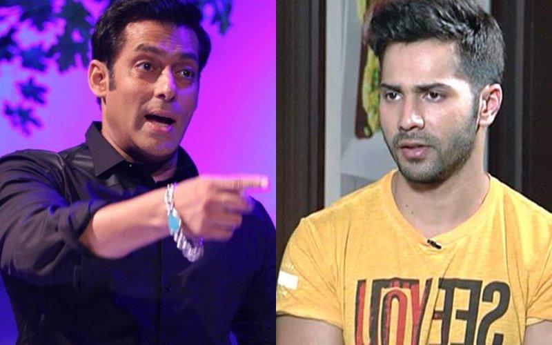 Here's Why Salman Khan Threatened To Slap Varun Dhawan!