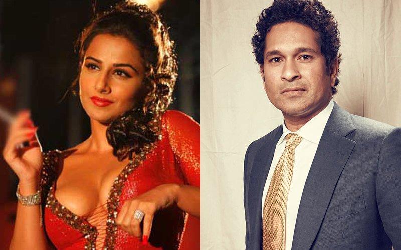 THE BIG FIGHT: Vidya Balan Locks Horns With Sachin Tendulkar