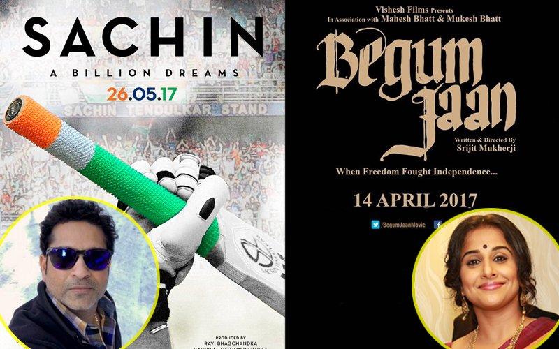 Sachin Tendulkar's Biopic Postponed, Is Vidya's Begum Jaan The Reason?