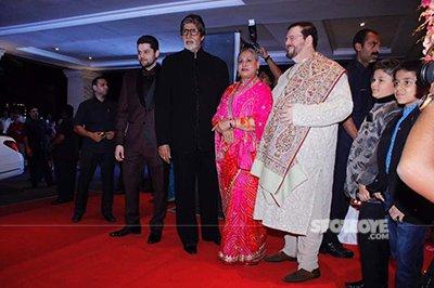 avamitabh bachchan and jaya bachchan at neils wedding