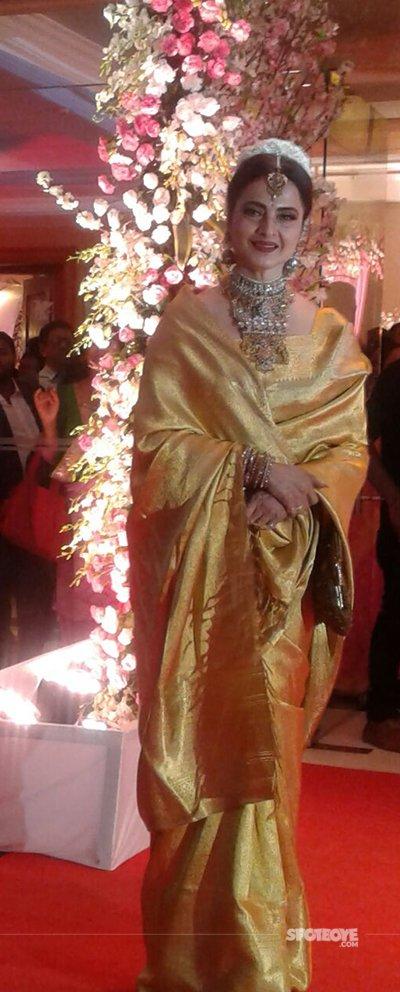 rekha at neils wedding
