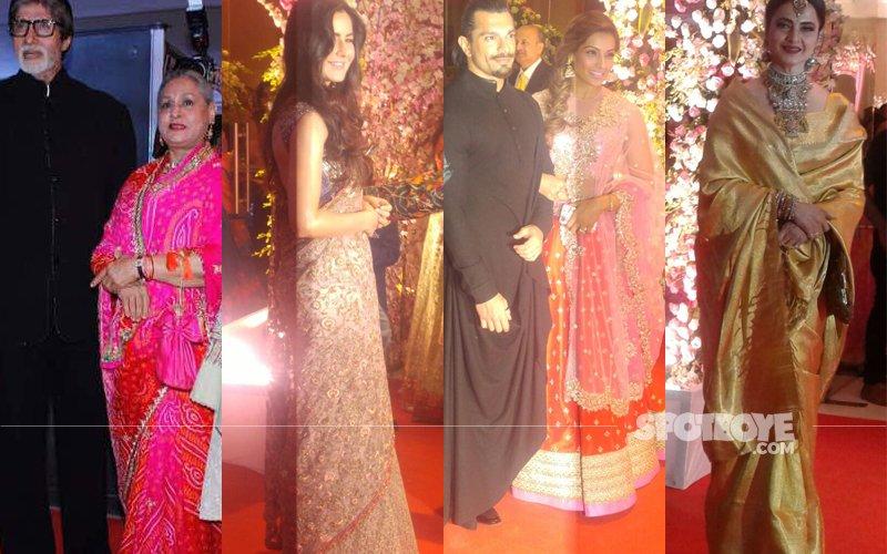 Amitabh Jaya Katrina Bipasha Karan Rekha Grace Neil Rukminis