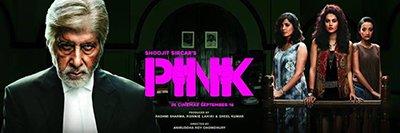 pink movie poster