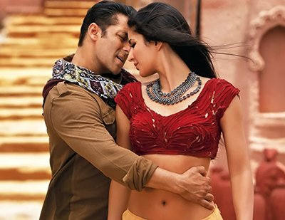 katrina kaif and salman khan in ek tha tiger