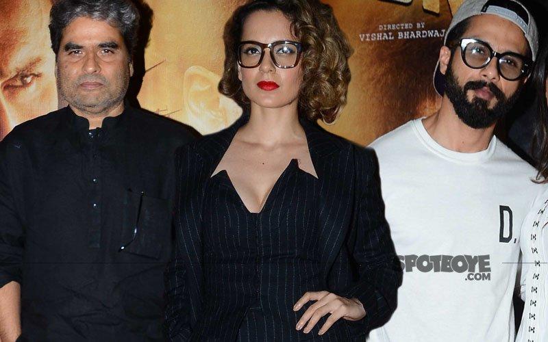 Vishal, Kangana and Shahid Organise Special Screening Of Rangoon For Filmmaker Friends