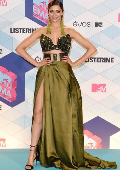 deepika padukone at ema awards 2016