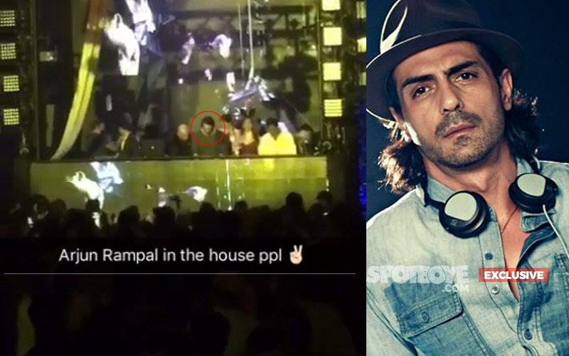 Arjun Rampal Turns Playboy Club Music Director, Haq Se