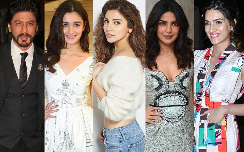 WOMEN'S DAY SPECIAL: SRK, Alia, Anushka, Priyanka, Kriti Have A Special Message