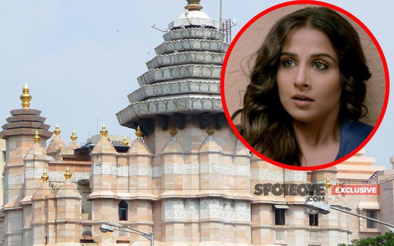 Man Crossed The Line Of Decency With Vidya Balan In Siddhivinayak Temple