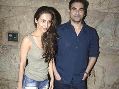 malaika arora and arbaaz khan snapped together post their divorce