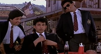 deepak tijori in the movie jo jeeta woh sikander