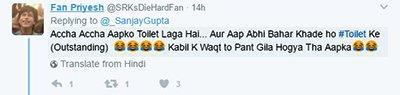 kaabil director sanjay gupta gets trolled about tweets on the clash between srk and akshaykumar